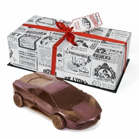niepowtarzalny prezent Samochód z czekolady Lamborghini Reventon