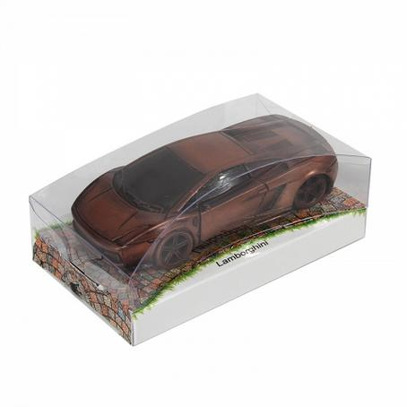 niezwykły prezent Samochód Lamborghini Galardo z czekolady