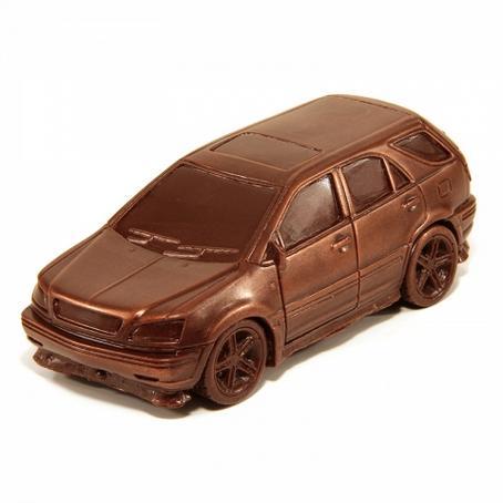 niezwykły prezent Samochód Lexus RX 300 z czekolady