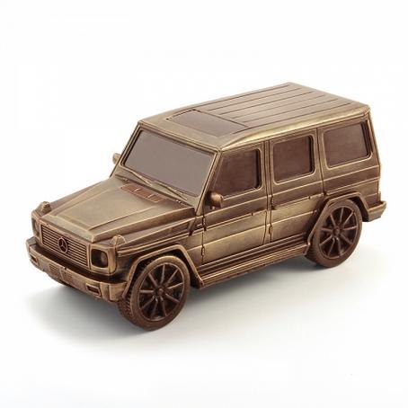 wyjątkowy prezent Samochód z czekolady Mercedes Benz G-klasa