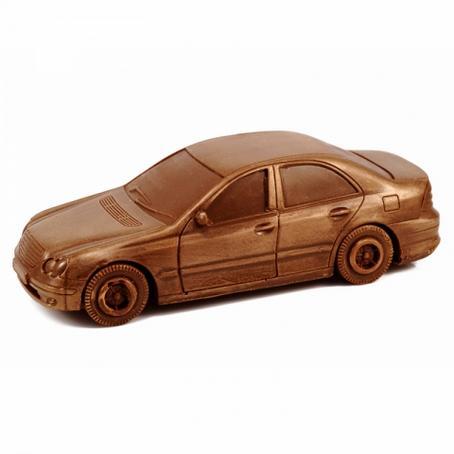 idealny prezent Samochód z czekolady mersedes E-klasa