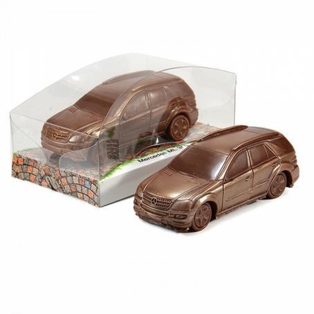 Samochód z czekolady Mercedes - Benz ML 350 motoryzacyjny prezent dla chłopaka
