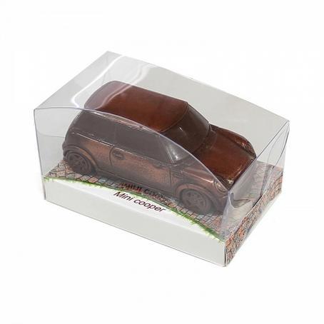 oryginalny prezent Samochód Mini Cooper z czekolady