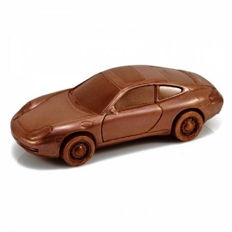 idealny prezent czekoladowy Samochód Porsche