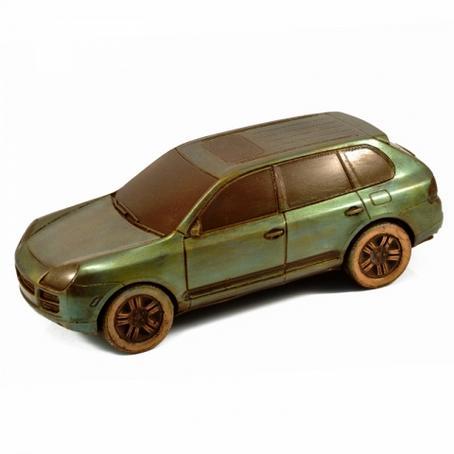 Wyjątkowy Prezent Samochód z czekolady Porsche Cayenne