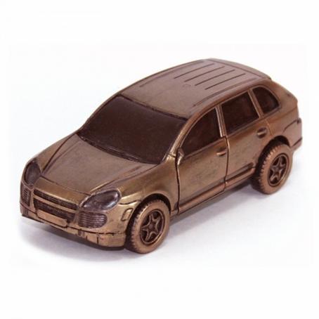Oryginalny czekoladowy prezent Samochód Porsche Cayenne