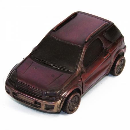 Samochód Toyota Raw4 wyjątkowy prezent z czekolady