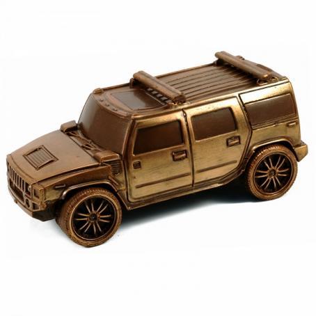 Samochód z czekolady Hummer fajny na prezent