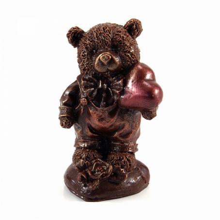 Niedźwiadek w spodniach z sercem