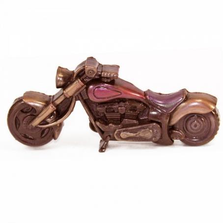 bardzo ładny czekoladowy prezent MOTOCYKL