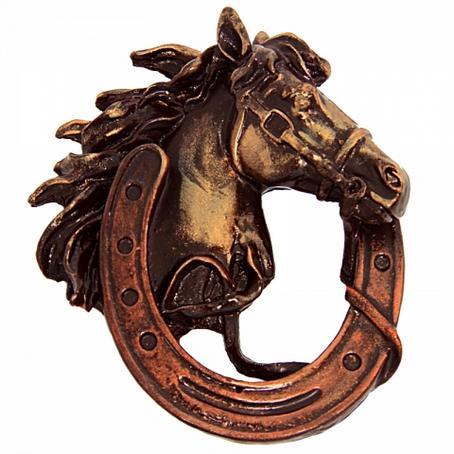 Głowa konia w podkowie