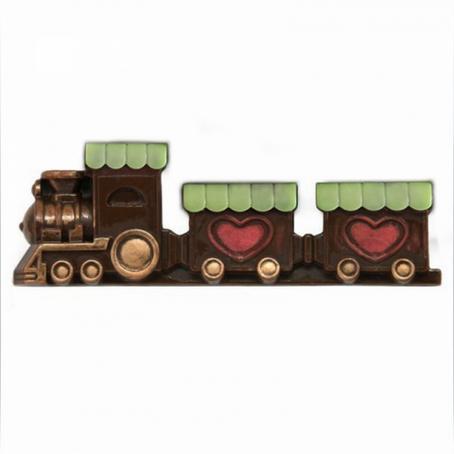 czekoladowy Pociąg parowy(płaskorzeźba) Prezent dla chłopaka