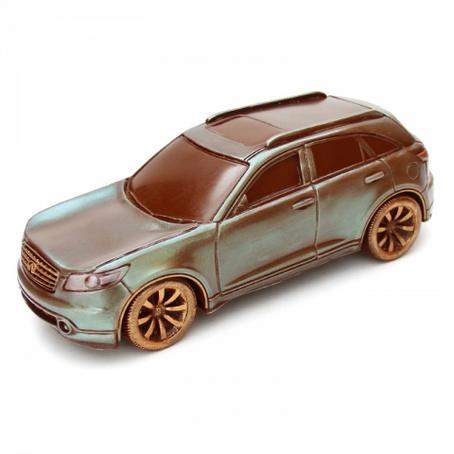 Fajny prezent dla niego Samochód z czekolady Infiniti FX45