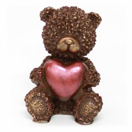 Niedźwiadek Taddy z sercem siedzącym