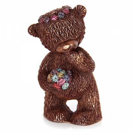 Niedźwiadek Taddy z bukietem