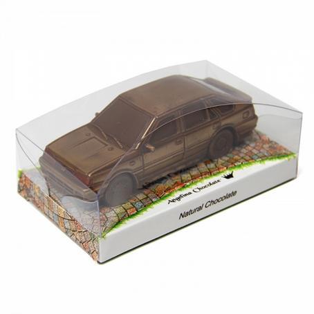 Samochód Polonez dobry prezent z czekolady