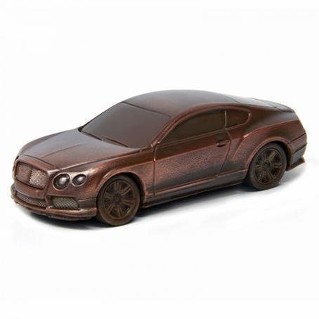 czekoladowy Samochód Bentley Continental oryginalny prezent  dla faceta