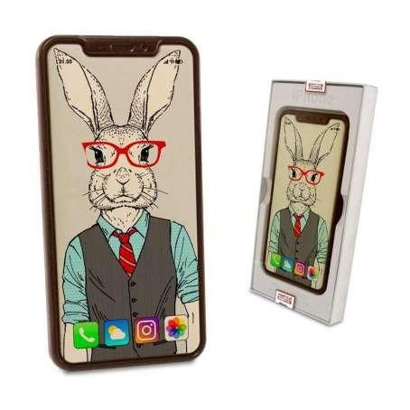 Czekoladowy iphone x na wielkanoc