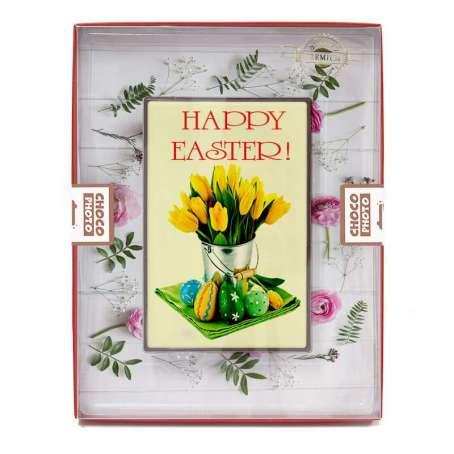 Oryginalne życzenia Wielkanocne z czekolady