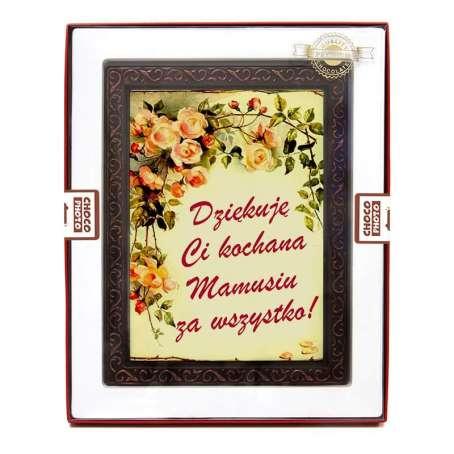 Czekoladowa kartka na Dzień Matki