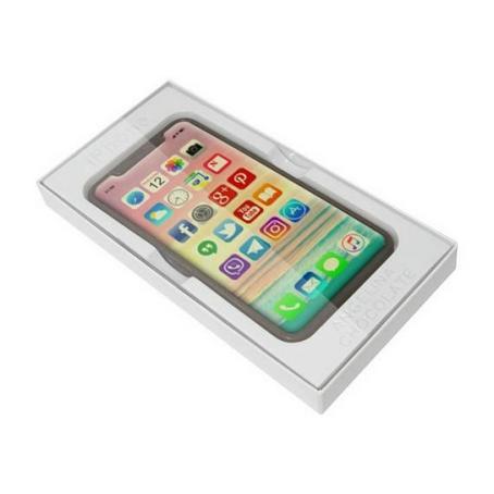 Czekoladowy smartphone iPhone X