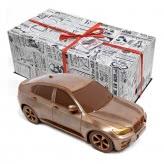 Wyjątkowy prezent dla szefa SAMOCHÓD BMW X6 z czekolady