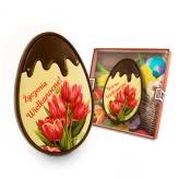 Czekoladowe jajo na Wielkanoc