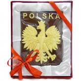 Godło Rzeczypospolitej Polskiej  (płaskorzeżba)
